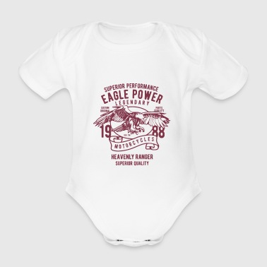 Eagle Power Eagle 1988 Legend Legendary Quality - Økologisk kortermet baby-body