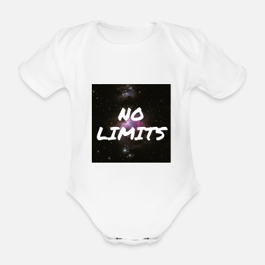 No Limit No Limits / No limit - Organic Short-Sleeved Baby Bodysuit