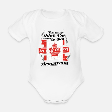 Armstrong HOLIDAY HOME ROOTS TRAVEL Canada Canada Armstrong - Organic Short-sleeved Baby Bodysuit