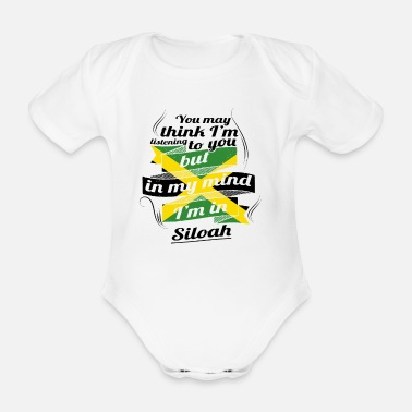 Jamaica HOLIDAY JAMESICA ROOTS TRAVEL IN Jamaica Siloah - Organic Short-sleeved Baby Bodysuit