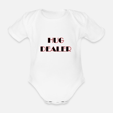 Dealer Hug dealer - Organic Short-Sleeved Baby Bodysuit