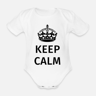 Keep Calm Keep Calm - Vauvan lyhythihainen body