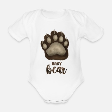 Partnerlook Baby Bear - für Baby-Eltern Partnerlook - Baby Bio Kurzarmbody