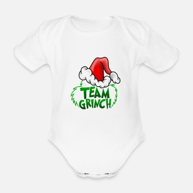 Team Team Grinch - Baby Bio Kurzarmbody