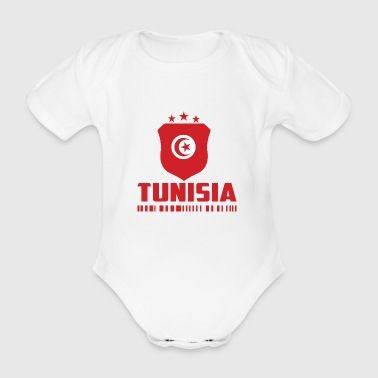 Tunisia Football Gift Fan World Cup - Organic Short-sleeved Baby Bodysuit