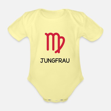 Sign Virgo zodiac signs of the zodiac - Organic Short-Sleeved Baby Bodysuit