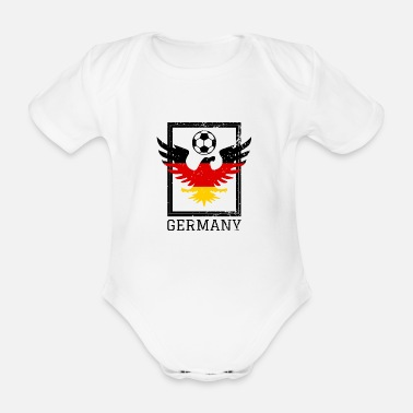 National Team German national soccer team - Organic Short-sleeved Baby Bodysuit
