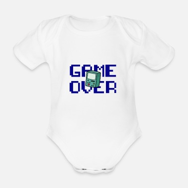 Retrogaming Game Over Retrogaming - Økologisk kortærmet babybody