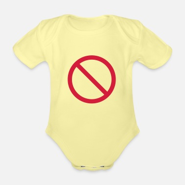 Prohibited PROHIBITION - Organic Short-Sleeved Baby Bodysuit