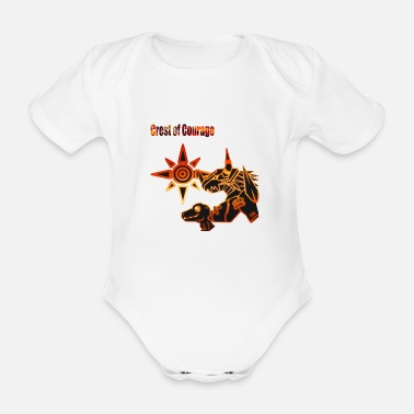 Crest Crest of Courage - Baby Bio Kurzarmbody
