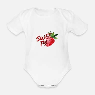 Sweetie SWEETY - Organic Short-Sleeved Baby Bodysuit