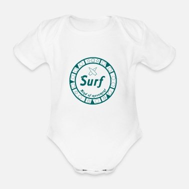 Movement Surf in movement - Baby Bio Kurzarmbody