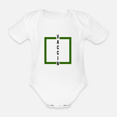 Dangerous covid vaccine - Organic Short-Sleeved Baby Bodysuit