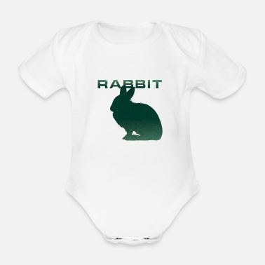 Renner Bunny Renner Runner Rabbit - Organic Short-sleeved Baby Bodysuit