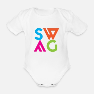 Offensive SWAG - Organic Short-Sleeved Baby Bodysuit