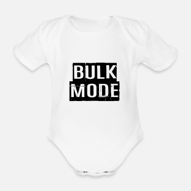 Bulk Up BULK FASHION - Organic Short-Sleeved Baby Bodysuit