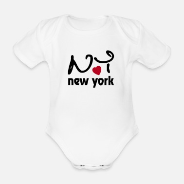 I Love New York I Love New York - Body bébé bio manches courtes
