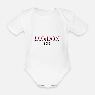 Gb London GB - Organic Short-Sleeved Baby Bodysuit