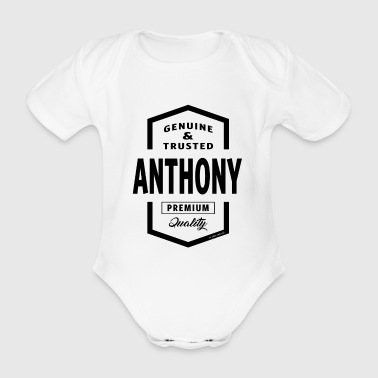 ANTHONY - Organic Short-sleeved Baby Bodysuit
