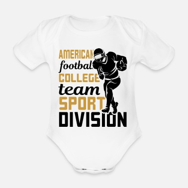 American Football Team American Football Team - Organic Short-Sleeved Baby Bodysuit