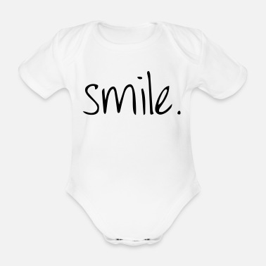 Laugh Laugh - Organic Short-Sleeved Baby Bodysuit