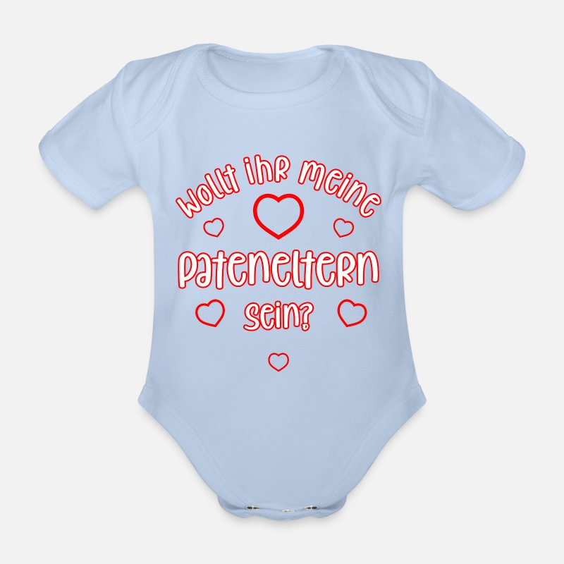 Babybody Baby-Body Pateneltern werden Strampler Patentante Patenonkel Taufe