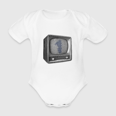 Date of birth 1 - TV show - Organic Short-sleeved Baby Bodysuit