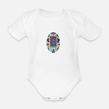 Ornament ornament - Organic Short-Sleeved Baby Bodysuit