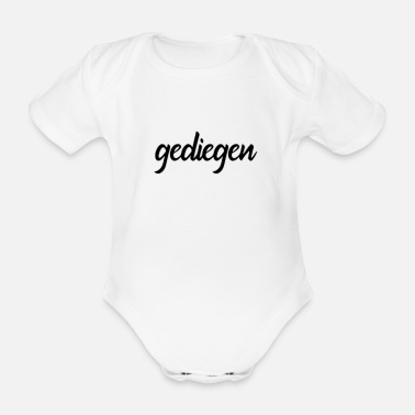 Solid solid - design - Organic Short-Sleeved Baby Bodysuit