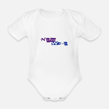 New Wave New Wave - Organic Short-Sleeved Baby Bodysuit