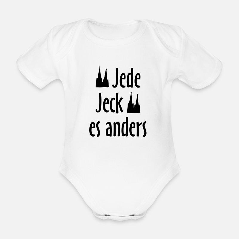 Kolsche Spruche Jede Jeck Es Anders Koln Spruch Baby Bio Kurzarmbody