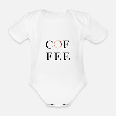 Java Coffee trace office humor job - Organic Short-sleeved Baby Bodysuit