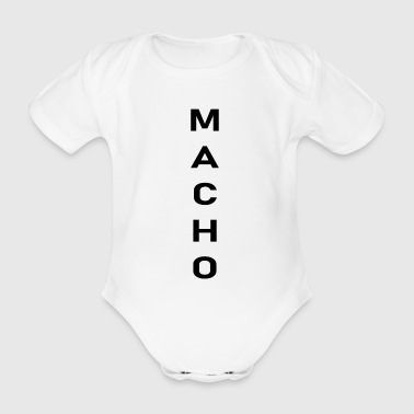 Macho - Baby Bio-Kurzarm-Body