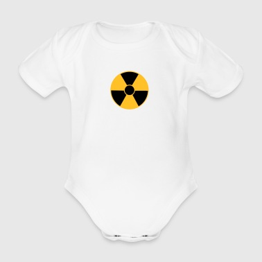 Radio Active 2 - Organic Short-sleeved Baby Bodysuit