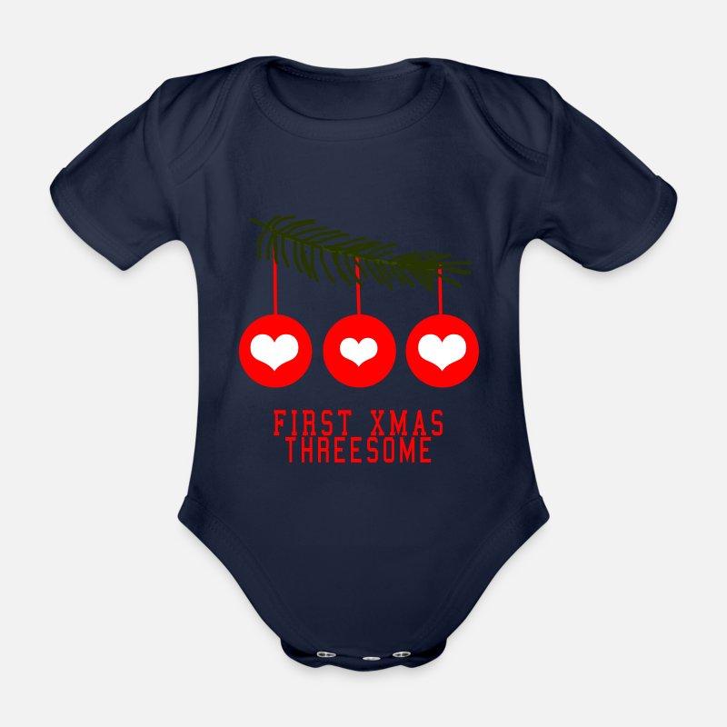 ERSTES WEIHNACHTEN ZU DRITT Baby Eltern Geschenk von YOGIDOLL ...