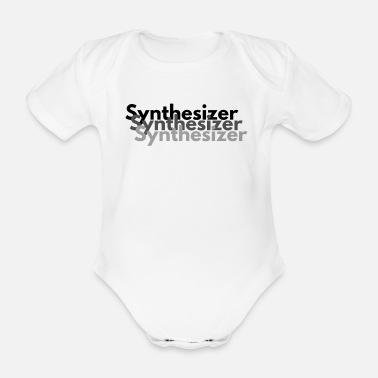 Synthesizer Synthesizer collection - Organic Short-sleeved Baby Bodysuit