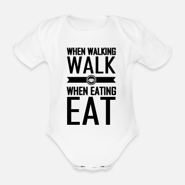 Healthy Eating healthy eating - Organic Short-Sleeved Baby Bodysuit