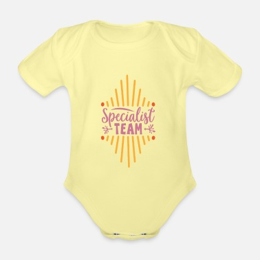 German Specialist team - Organic Short-Sleeved Baby Bodysuit