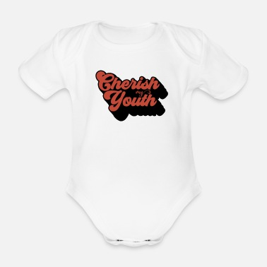 Youth adore the youth - Organic Short-Sleeved Baby Bodysuit