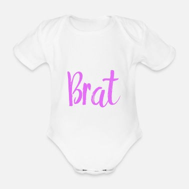 Bdsm Fry Princess Little Ageplay BDSM DDLG Daddy - Organic Short-Sleeved Baby Bodysuit