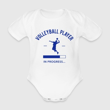 Volley Volleyball Player loading - Body bébé bio manches courtes