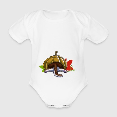 Sit If it fits it sits! - Organic Short-sleeved Baby Bodysuit