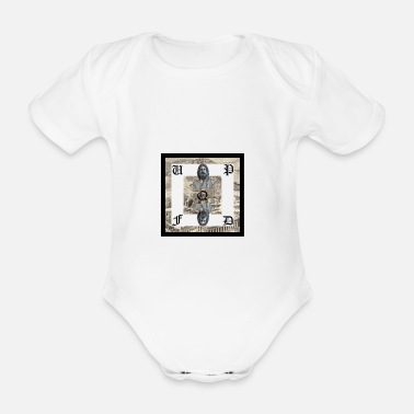 Ancient Ancient Greece - Organic Short-sleeved Baby Bodysuit