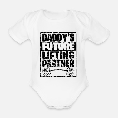Bodybuilder Daddy´s future lifting partner - Baby Bio Kurzarmbody