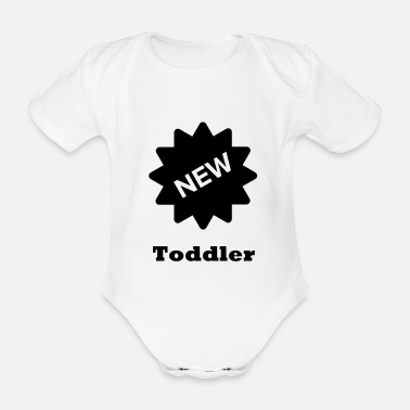 Toddler toddler - Organic Short-sleeved Baby Bodysuit