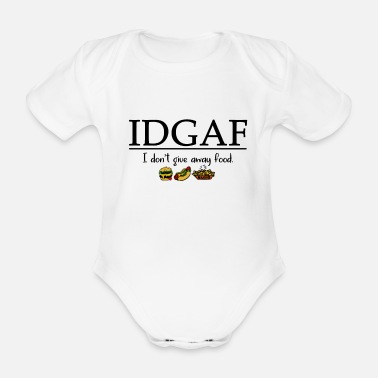 Fast Food Fast food - Organic Short-Sleeved Baby Bodysuit
