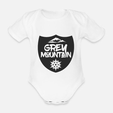 Mountain Sports Mountain Sports - Organic Short-Sleeved Baby Bodysuit