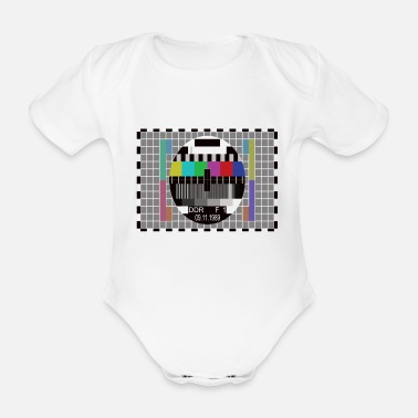 Fall Of The Wall fall of the wall - Organic Short-Sleeved Baby Bodysuit