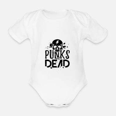 PUNKS NOT DEAD Baby Shirt black