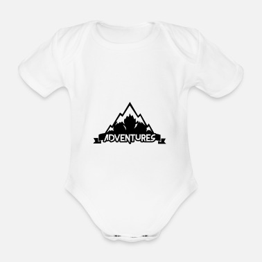 Alps Alps - Organic Short-Sleeved Baby Bodysuit